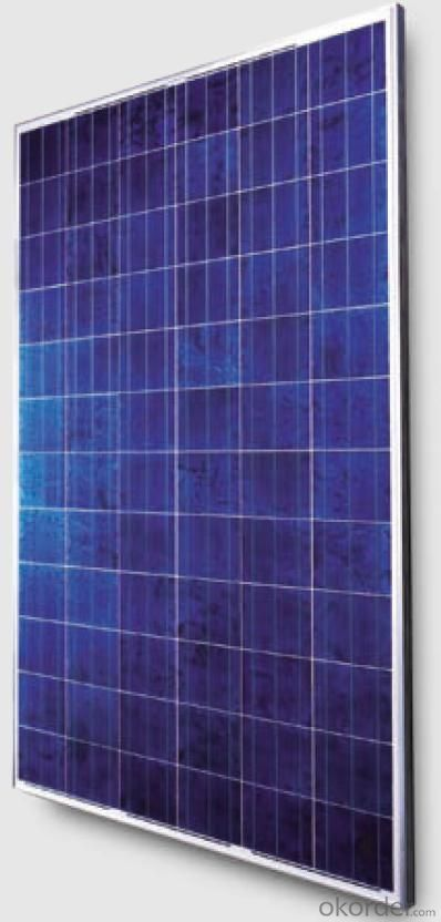 250watt Crystalline Solar Panels for 25kw Rooftop Systems