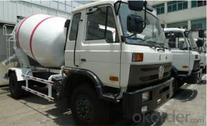 3 Cubic Meters  Concrete Mixer Truck Drum