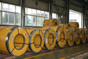 Hot Dipped Galvanized Steel Sheets in Coils Based on Full Hard Quality
