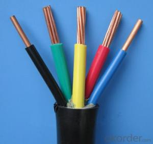 Solid Copper Conductor PVC Insulated 1.5mm2,4mm2,6mm2,10mm2 Electrical Wire and cable