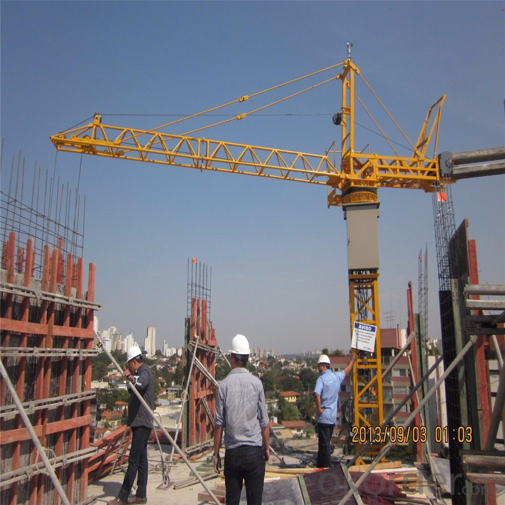 Tower Crane in India Yongli  for Buiding Manufacturer TC4808