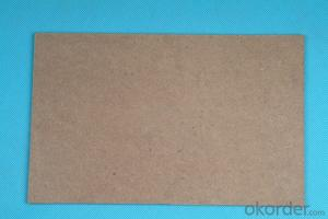 Raw Fibre Hardboard for Furniture Back Side