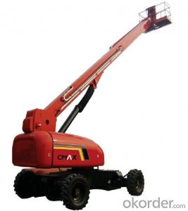 Self-Propelled Telescopic Boom Lifts GTBZ40S & GTBZ42S