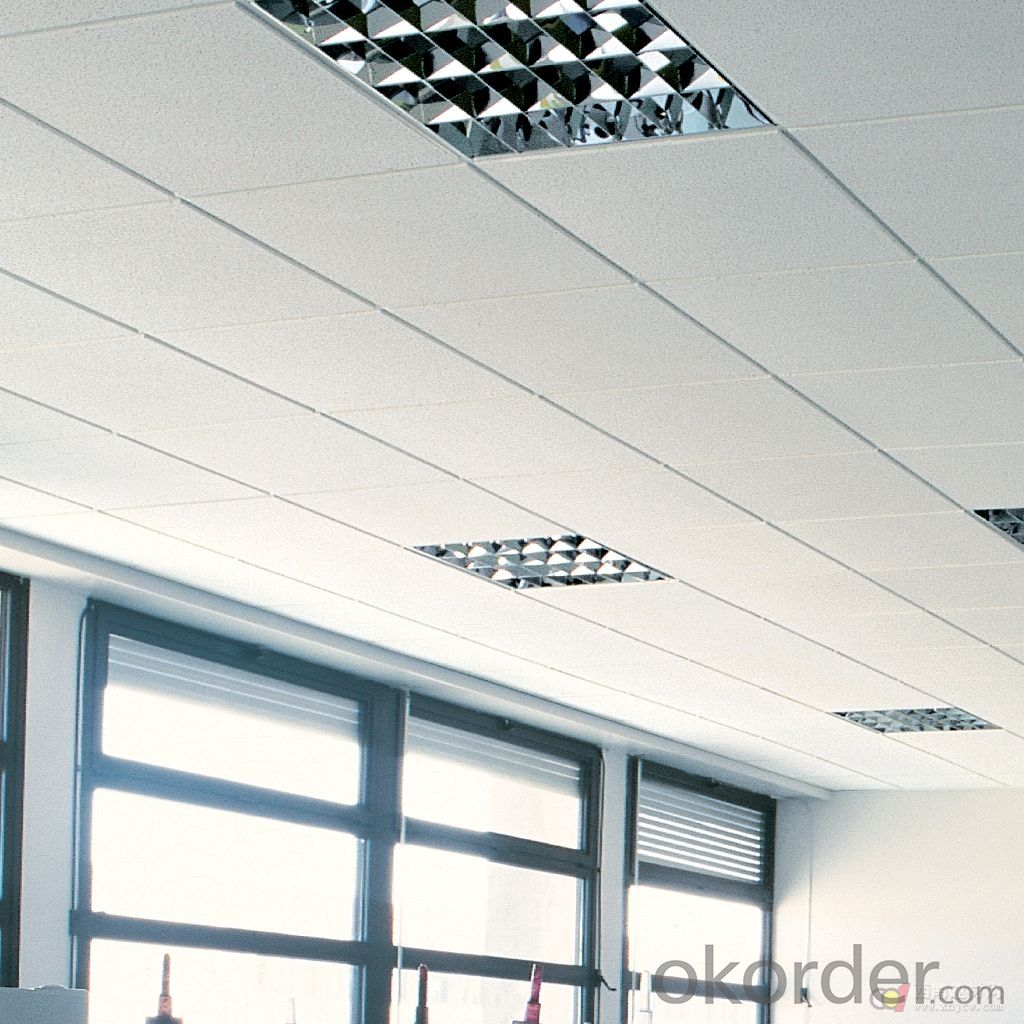Buy Mineral Fiber Ceiling Tiles For Interior Decor Mineral