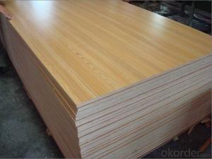 Various Specifications of Heat Transfer MDF Board Melamine Veneer