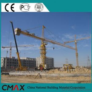 TC5613 8T Rail Tower Crane in India with CE ISO Certificate