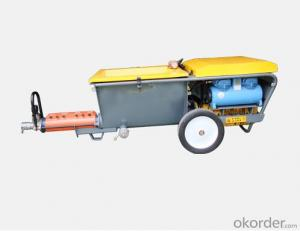 Small Valume Mortar Plastering Machine for Sale