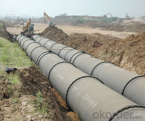 Ductile Iron Pipe of China C30 DN200-DN1000 EN545/EN598 for Water Supply