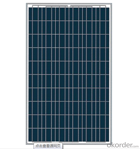 Polycrystalline Solar Panel CNPV-250w High Performance 60 Cell