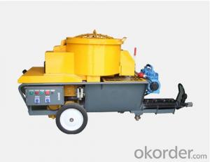 Small Mortar Plastering Machine with High Performance