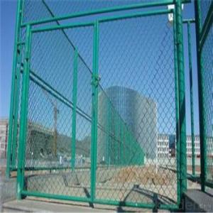 Chain Link Wire Mesh Galvanized Wire Mesh PVC Coated Fence Netting