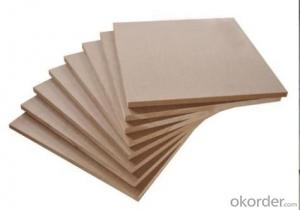 Light Color Poplar Core Plain MDF Boards