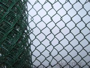 PVC Coated Hurrican Chain Link Mesh Fence