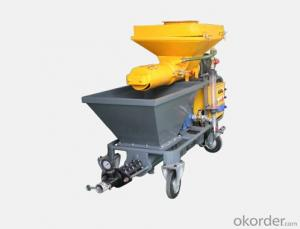 JP40W  Diesel  Mortar  Plastering Machine