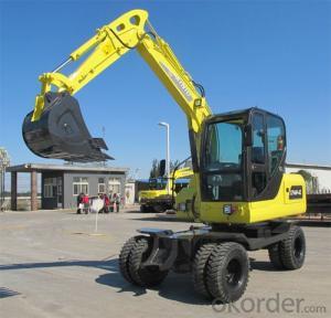 Wheel Excavators With China