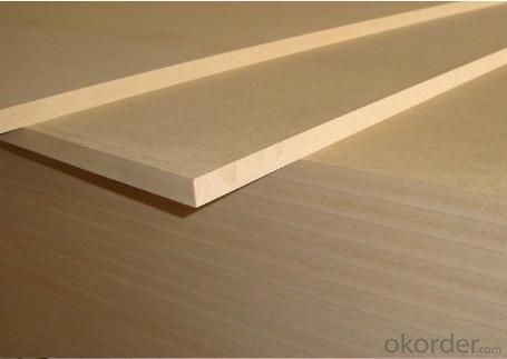 Light Color Thick Plain MDF Boards Raw MDF Boards