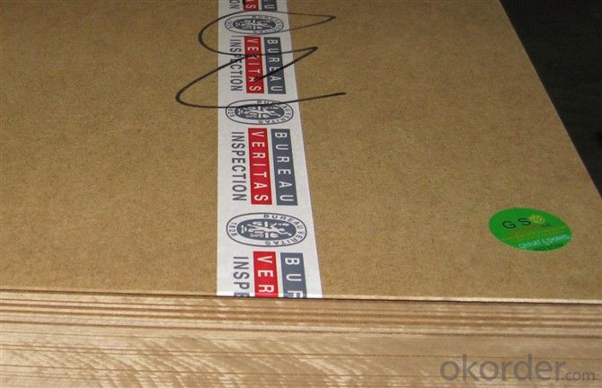 Light Color Thin MDF Board in Thickness 2mm