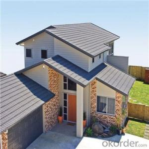 Stone Coated Metal Roofing Good Qulaity and Factory Price