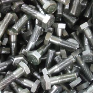 Bolt M6*100 HEX  with Good Quality for Customer