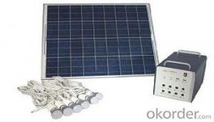 SPS 300C Sunpower Solar Module with LED Lighting