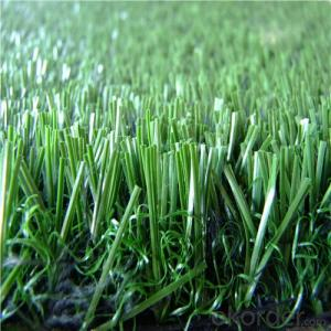 11000dtex & 12800dtex Fake Garden Grass , Landscaping Artificial Turf For Decorative