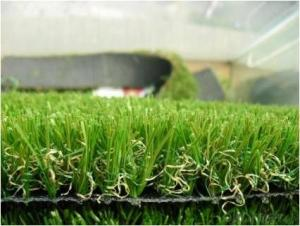 Recycled Leisure Landscaping Artificial Grass 30mm 50mm , Residential Field Turf