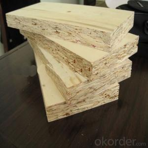 18 mm Thickness Particle Board for Furniture Material