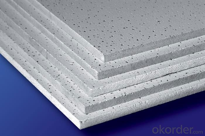 Hot Decorative Low Density Mineral Fiber Ceiling Tiles