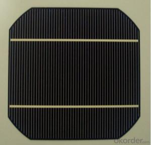125*125mm A Grade Mono Silicon Solar Cell for Solar Panel