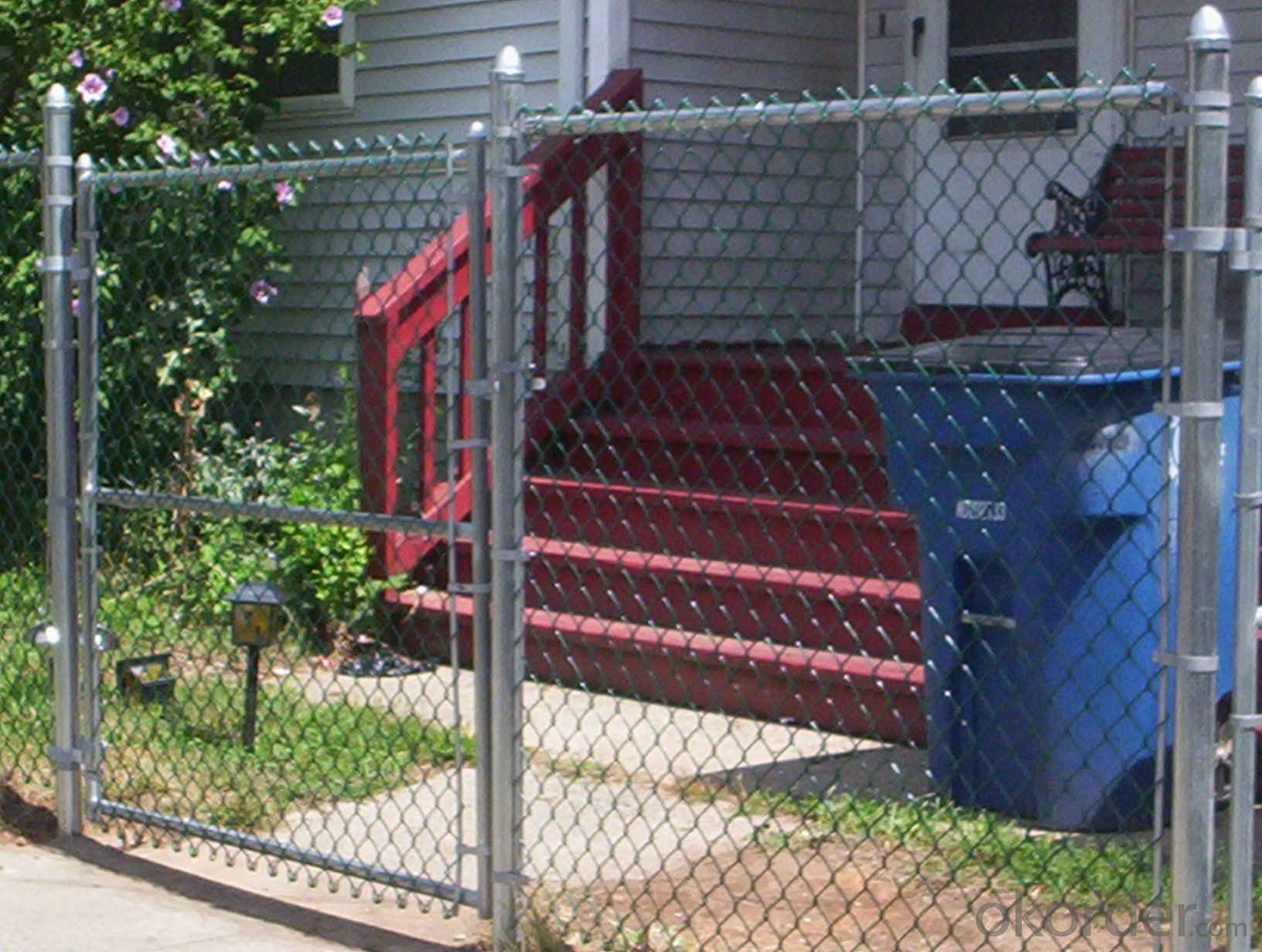 Buy Residential Security Galvanized Chain Link Fence Price