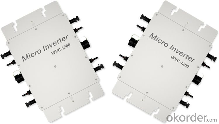 KD-WVC1200 Series Micro Inverter.High Efficiency & Best Cost-Effectiveness