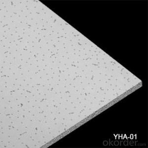 Minral Fiber Ceiling Fissured Pin Hole In CHINA
