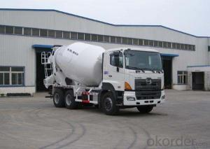 6*4 Concrete Mixing Truck for Cement Mixing