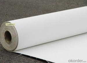 PVC Fiberglass Reinforced Waterproof Membrane with 1.5mm Thickness