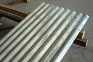 Galvanized Steel Roof in 9-waving Regular Shape