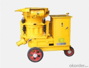 Strong Mobility  Dry Concrete Shotcrete Machine