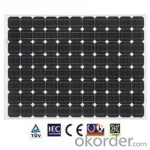15W High Quality Mono Solar Panel with Low Factory Price
