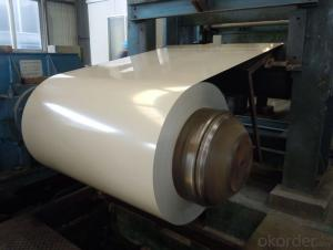 MODEIFED SILICON PREPAINTED ALUZINC STEEL COIL FOR  PRODUCTION ROOM