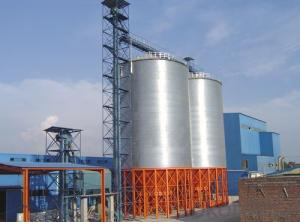 Steel Grain Silo, Grain Bin Food Millet Storage Silo for Sale
