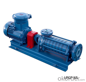 LPG Side Channel Multistage Centrifugal Pump