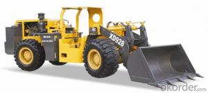 XD928 2ton Side Dump Underground Loader with Side Seat for Mining