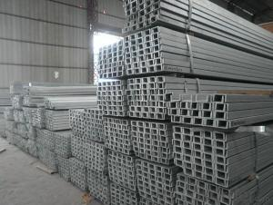 50mm JIS Standard U Channels for construction