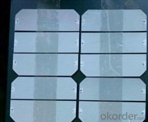 156x156 A Grade B Grade PV Silicon Solar Cell for Solar Panel