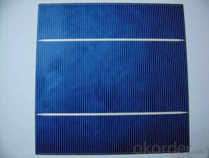 6*6 High Efficiency Mono Silicon Solar Cell