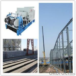 Precast Concrete Roof Slabs Molding Machine