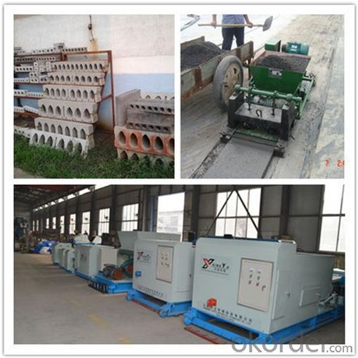 Prefabricated Concrete Floorboard Making Machine