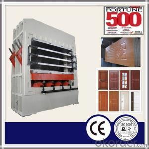 1200T 5 Layer Door Skin Hydraulic Hot Press Machine