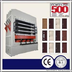 MDF Melamine Veneer Door Skin Press Machine