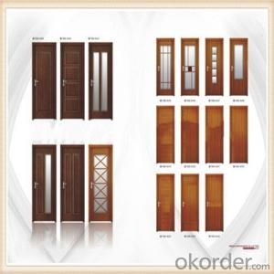 MDF Short Cycle Melamine Veneer Door Skin Hot Press