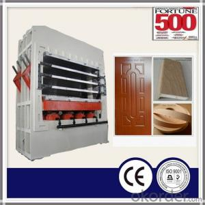 Melamine Door Skin Laminating Press Machine